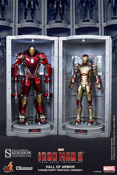 Marvel Hall Of Armor House Party Protocol Version Sixth Sc Sideshow Collectibles