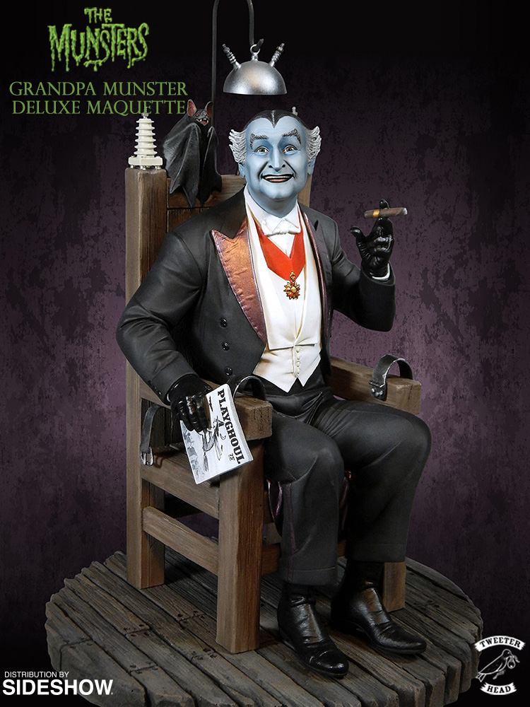 The Munsters Grandpa Munster Deluxe Maquette by
