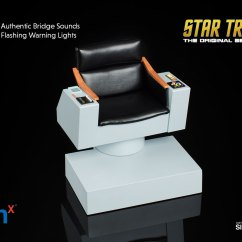 Star Trek Captains Chair Standard Size Sixth Scale Figure Accessory By