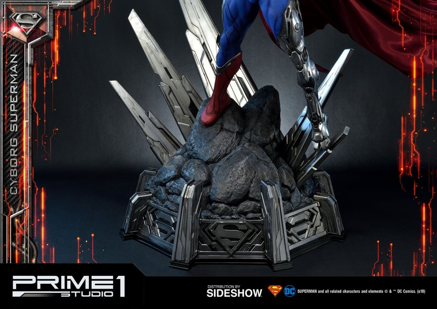 Prime 1 studios cyborg superman