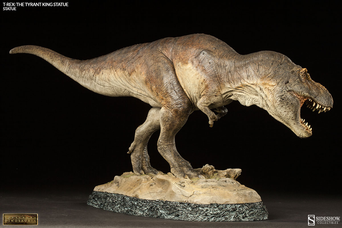 Sideshow S Dinosauria Presents T Rex The Tyrant King