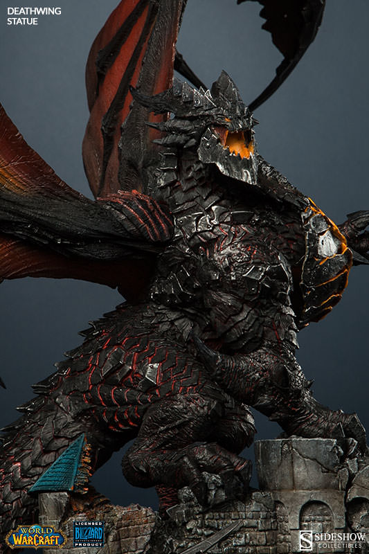 Sideshow Presents Deathwing The Destroyer Statue From Blizzards World Of Warcraft Sideshow
