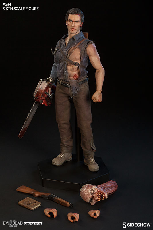 Ash Williams Evil Dead 2 Dead by Dawn Sixth Scale Figure