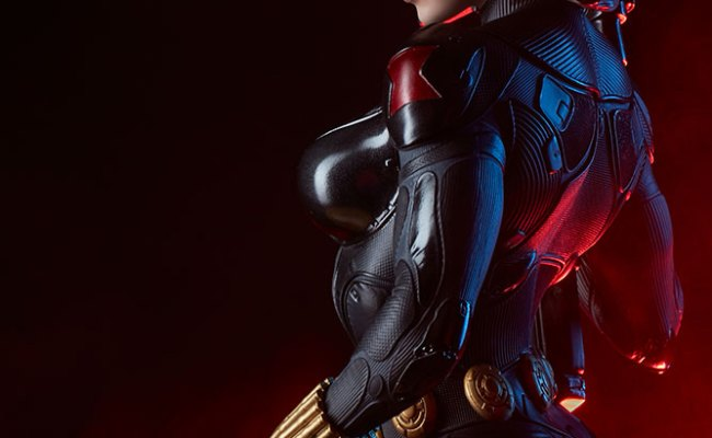 New Photos Of The Black Widow Premium Format Figure Are