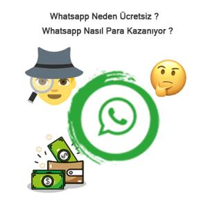 Whatsapp Neden Ücretsiz ?