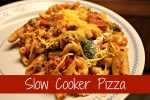 Slow Cooker Pizza - A Crockpot Freezer Meal