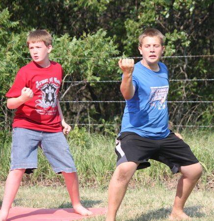 A Fun Weekend at Karate Camp