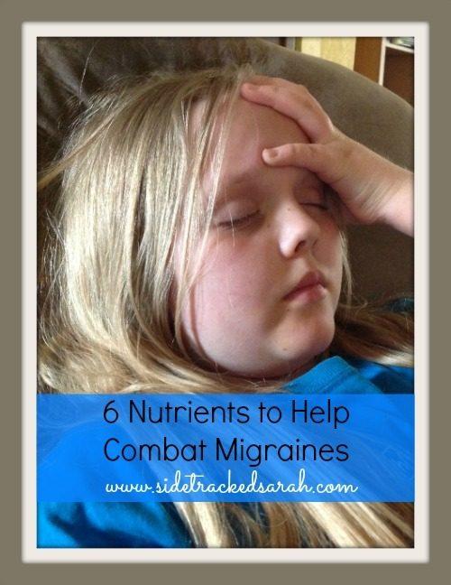 6 Nutrients to Help Combat Migraines