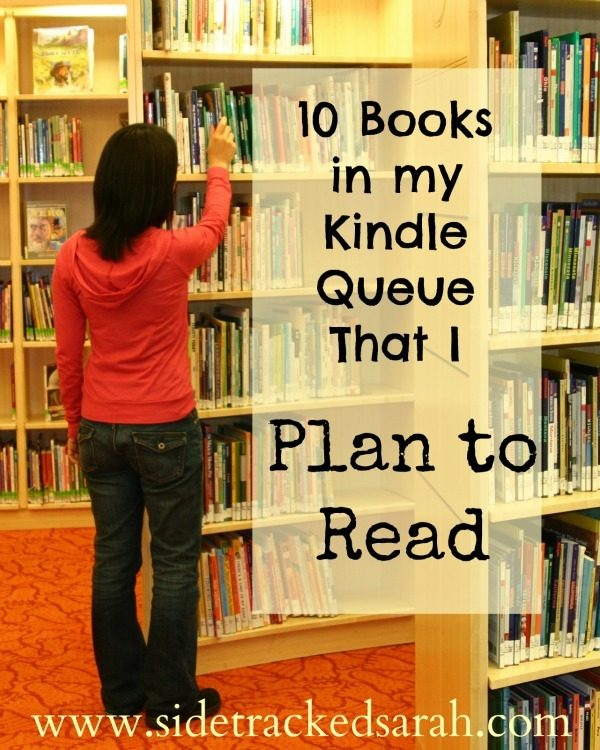 10 E-books in my Kindle Queue That I Plan to Read