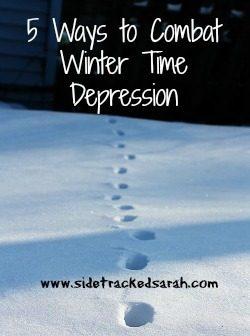 5 Ways to Combat Winter Time Depression
