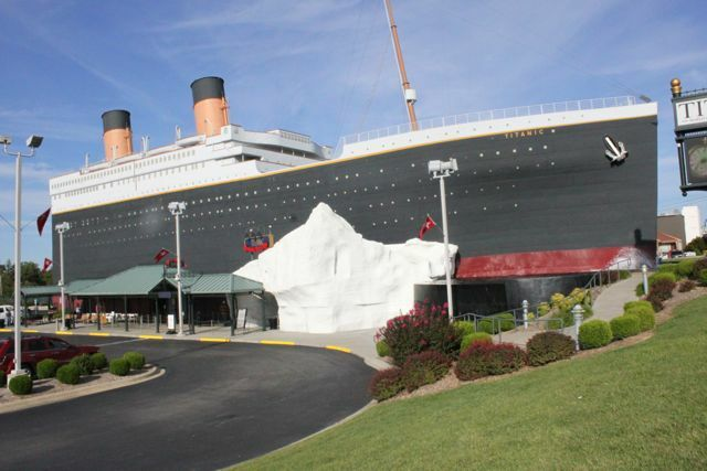 Family Friendly Fun:  The Titanic Museum!