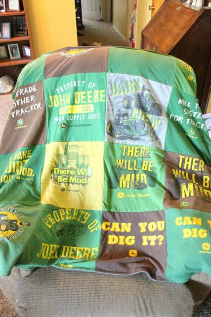 Are You Saving T-shirts for a T-shirt Quilt?
