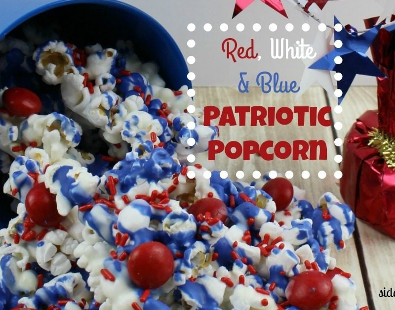 Red, White & Blue Patriotic Popcorn