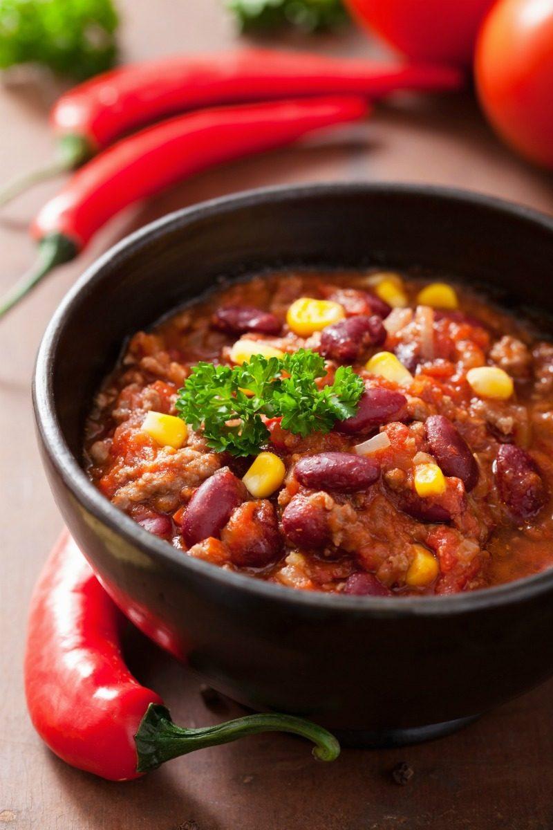 bowl of taco soup