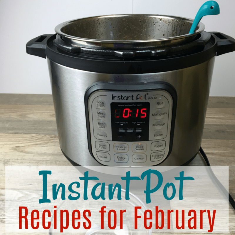 Favorite Instant Pot Recipes for February!