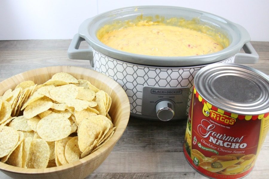 Slow Cooker Nacho Cheese Recipe