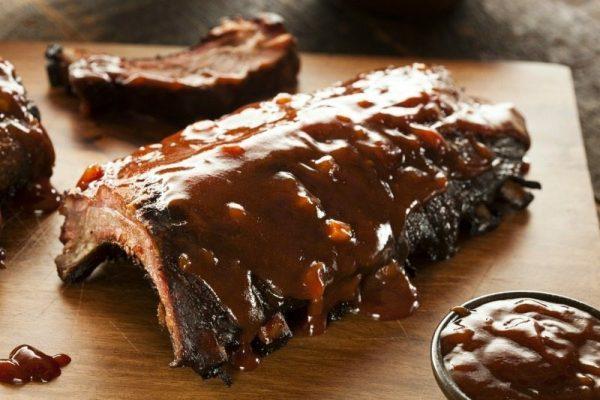 slow cooker pork ribs