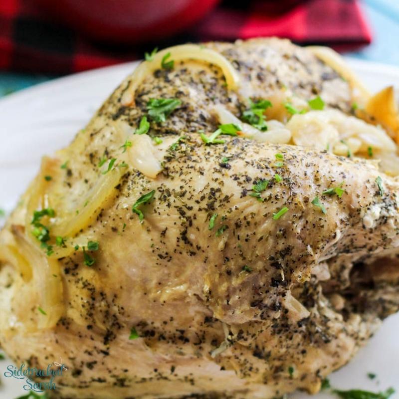 Instant Pot Lemon Pepper Turkey Breast