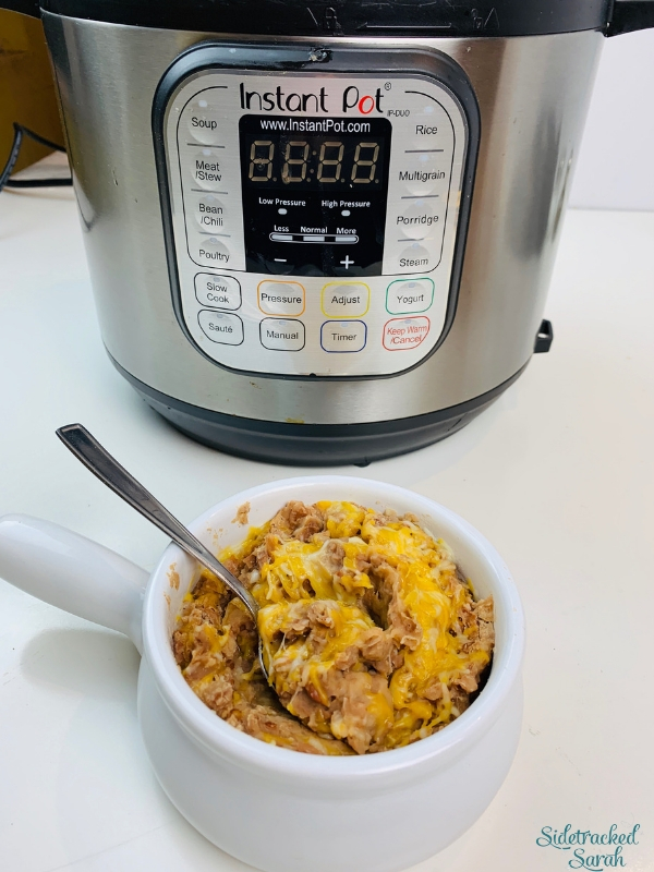 With Instant Pot Refried Beans, you can have restaurant-quality refried beans in under an hour! This delicious, easy side dish is a perfect match to your favorite Mexican meal.