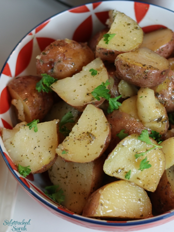 Ranch Roasted Potatoes in bowl