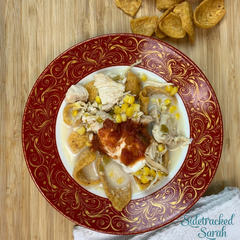 Instant Pot Mexican Chicken Corn Chowder