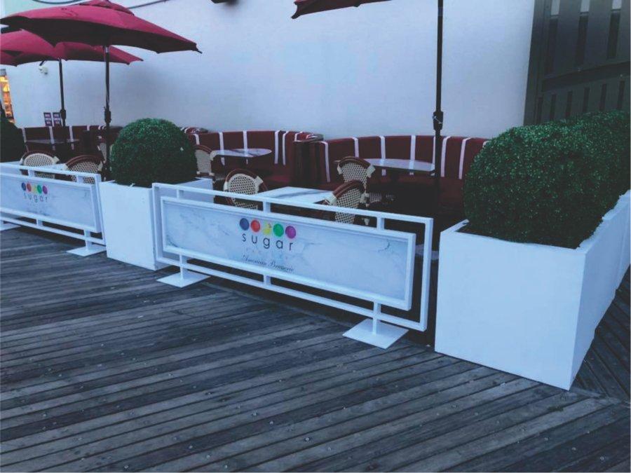 photo gallery sidewalk barriers