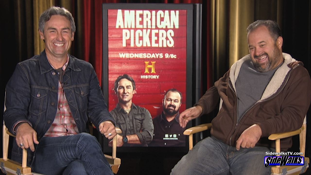 Interview Mike Wolfe and Frank Fritz American Pickers