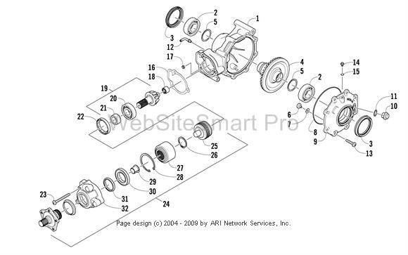 Rear Axle Pops Out / General Arctic Cat Prowler Discussion