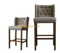 CL-4403 luxury club bar furniture, solid wood bar chair ...