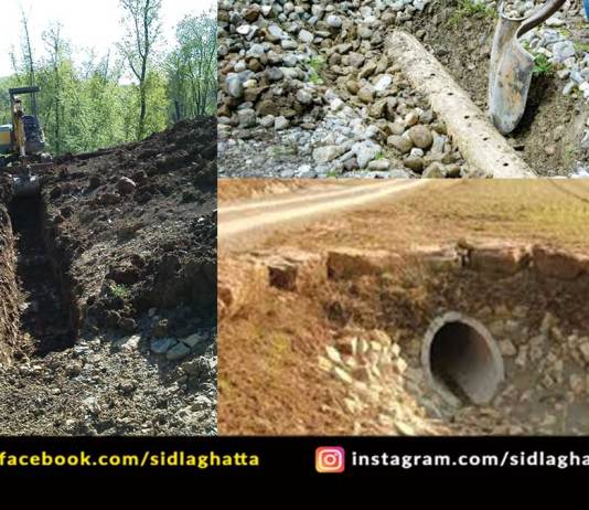 French Drain Method Agriculture