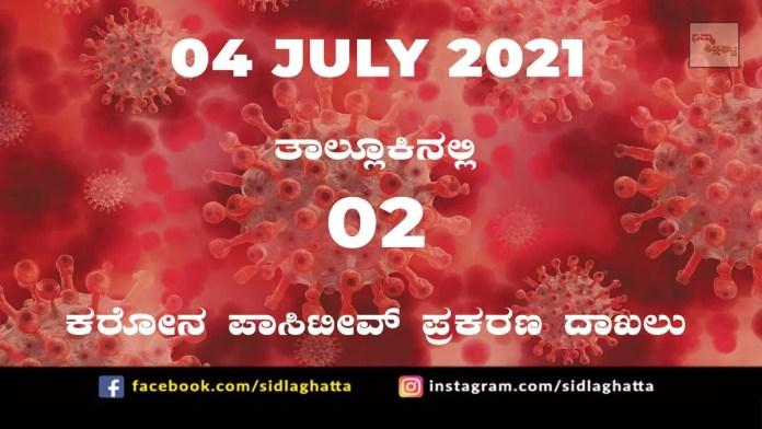 Sidlaghatta Covid-19 Update-04/07/2021
