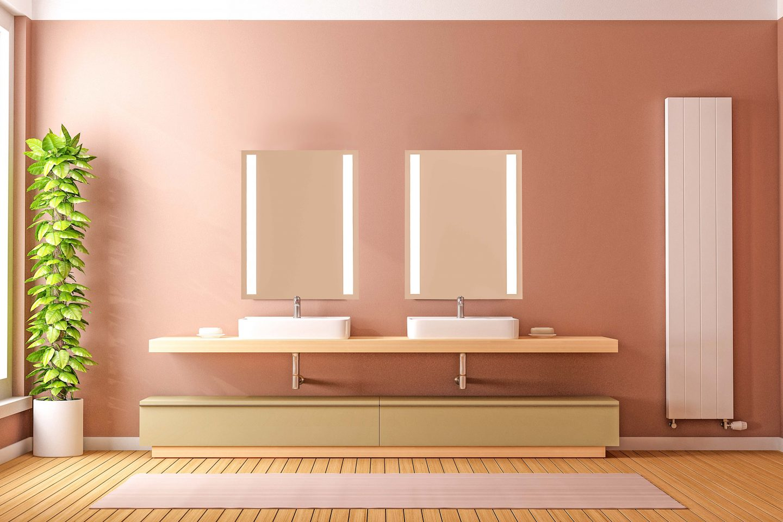 SIDLER  Sidelight Mirrored Bathroom Medicine Cabinet 2019
