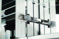 SIDLER Diamando Collection - Mirrored Bathroom Cabinets