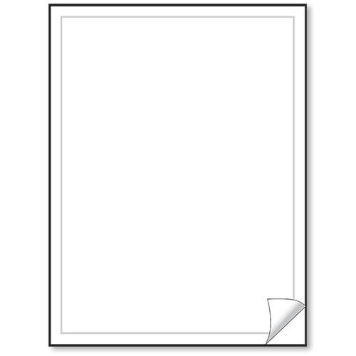blank white vehicle info