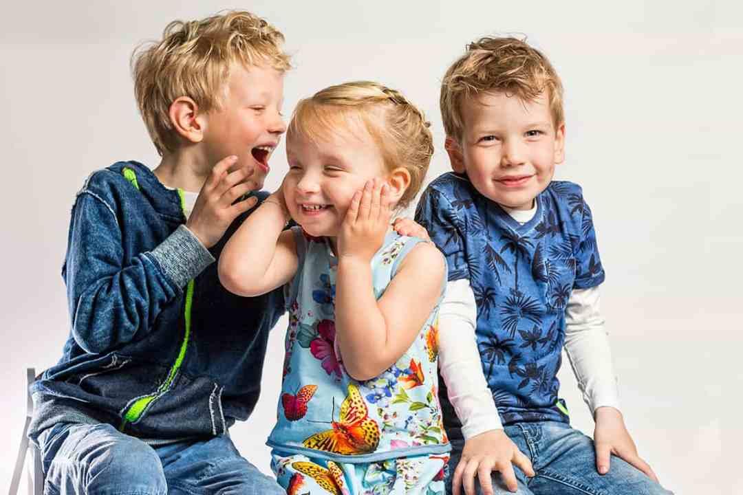 fotostudio thuis met kinderen