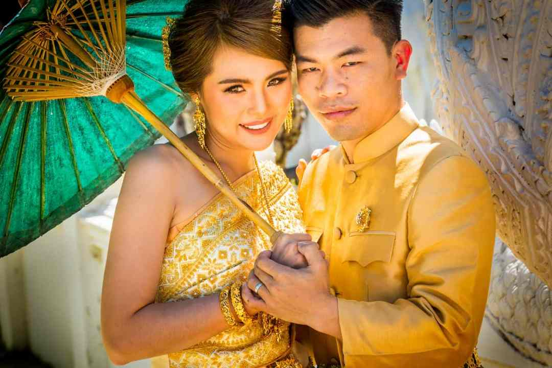trouwfoto Thailand bruidspaar