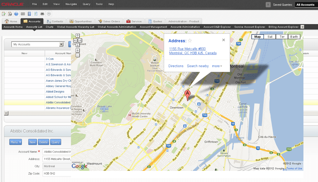 Siebel Open UI Extensibility Part 2 The Google Maps Example Updated  The Siebel Hub