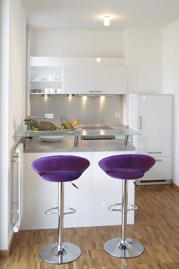2Zimmer Luxus Penthouse Wohnung mit Dachterrasse mbiliert in Bestlage Innenstadt  Siebert