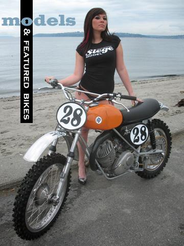 Pin Up Girl Home Wallpaper Hammer Amp Tongs Vintage Motocross