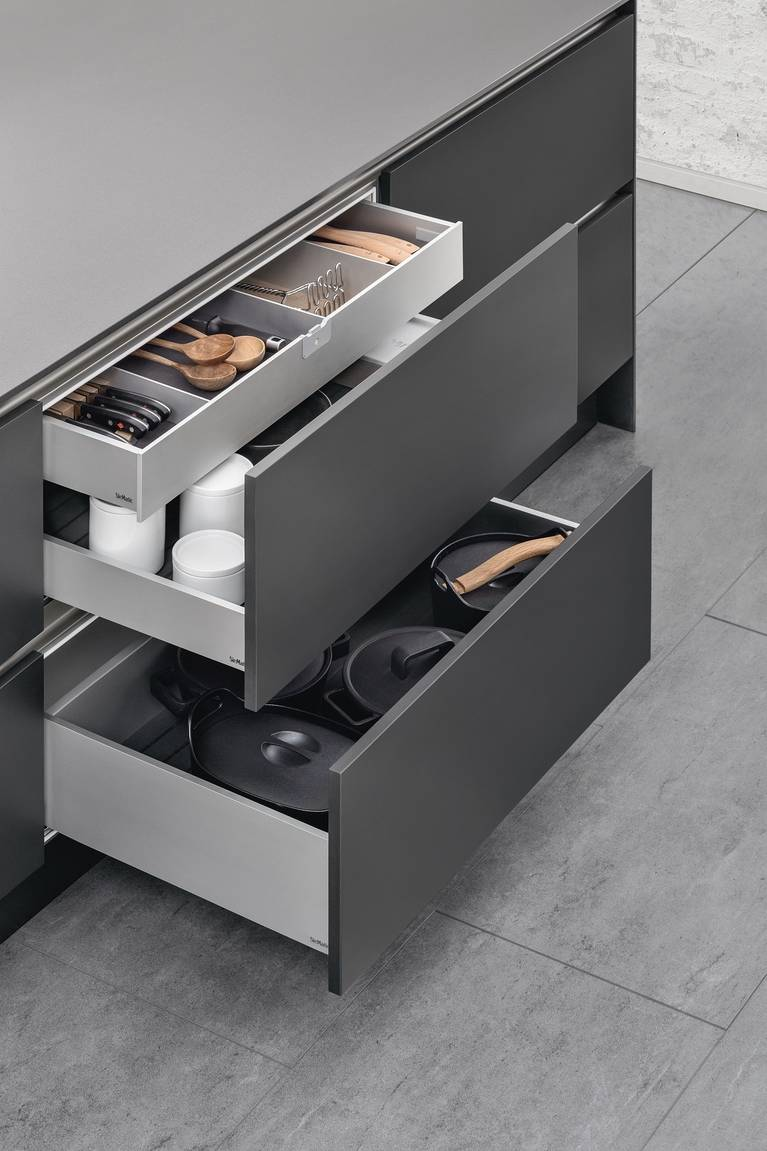 kitchen drawer dicer slicer interior accessories by siematic individual innovative the internal provides a second level for pull outs more flexibility