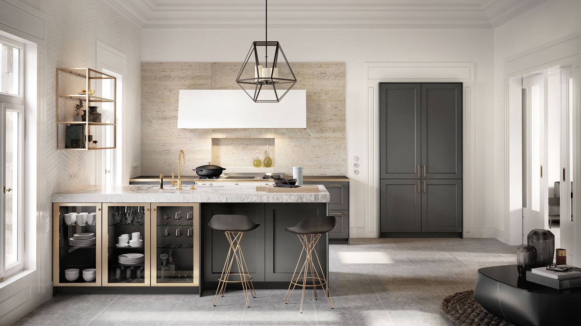 design kitchen wood hoods siematic interior of timeless elegance classic