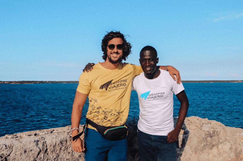 William Ramos y Augusnel Charlot, Guía Turístico en Haití