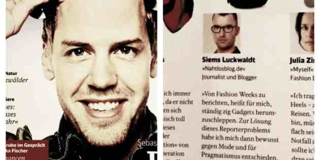 Me in the News: Lieblingsstück (für Mobil, Deutsche Bahn)