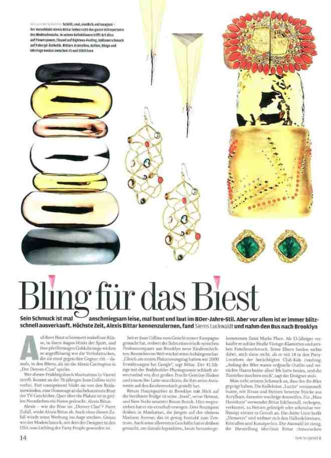 Interview mit Alexis Bittar (für how to spend it)
