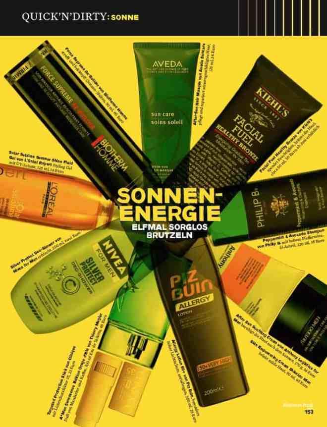 Sonnenenergie: 11 Mal sorglos brutzeln (Siems Luckwaldt für Business Punk)