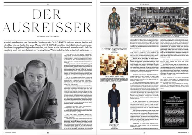 Carlo Rivetti: Der Ausreißer (für Breuninger Magazin)