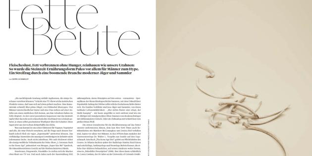 Paleo: Fette Beute (für L'Officiel Hommes)