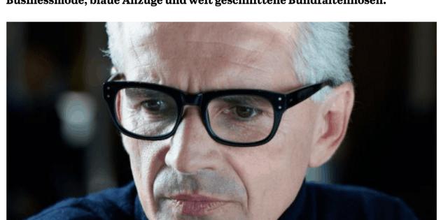Was Mann trägt: Mauro Ravizza Krieger, Pal-Zileri (für Capital.de)