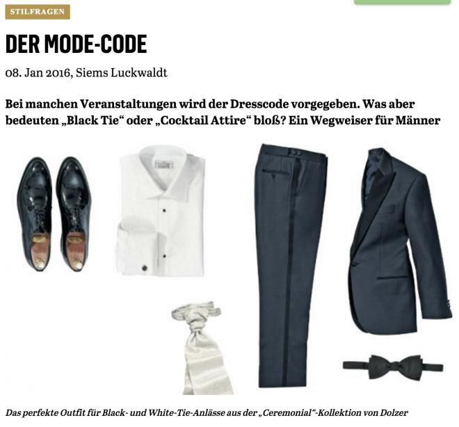 Der Mode-Code (für Capital.de)