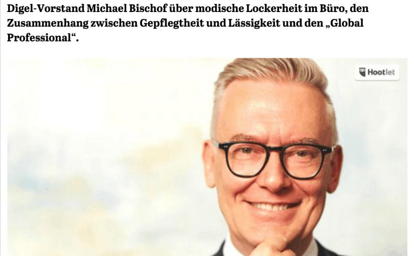 Was Mann trägt: Michael Bischof, Digel (für Capital.de)